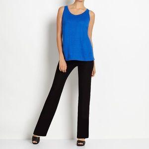 Eileen Fisher Petite Essentials Black Pants